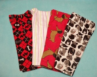 18 inch Doll Flannel Lounge Pants