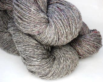 Handspun Alpaca Yarn!  500 Yards.  8 Ounces. DK (3)  Light Worsted Weight