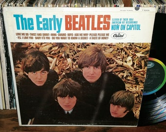 The Early Beatles Vintage Vinyl Record