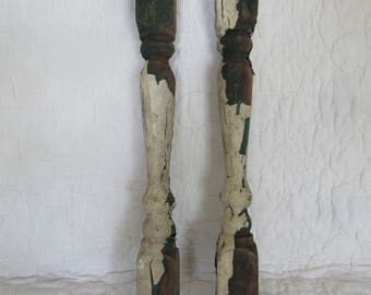 1 Antique Salvage Spindle baluster Architectural piece more available