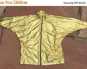 40% OFF CLEARANCE SALE The Yellow Gold Mc Hammer Windbreaker Jacket