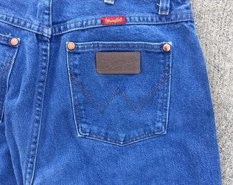 40% OFF The High Waisted Very Blue Vintage Wrangler Denim Jeans WAIST 30