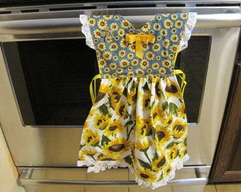Sunflower Kitchen Towel Dress
