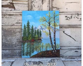 Vintage Oil Painting - Landscape Oil Painting - Oil Painting - Landscape Painting - Nature Painting - Canvas Painting - Vintage Painting