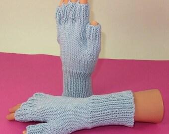 40% OFF SALE Digital pdf file knitting pattern- Simple Short Finger Gloves pdf download knitting pattern