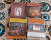 Wool Street Journal Rug Hooking Magazines Lot of Four