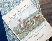 "Vintage, Tewkesbury, ""Counties of England Series 1"", Single Game Card, Circa 1900s Victorian Era"