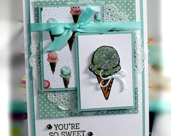 Stampin' Up You're So Sweet Card