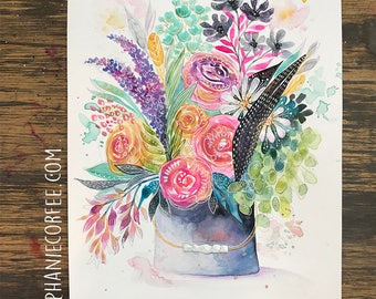 GRAB BAG Originals - Tin Pail Bouquet