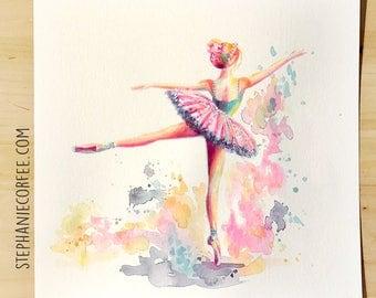 GRAB BAG Originals - Ballerina Arabesque