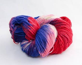 Snow Dyed Sock yarn - Snowflake nr: 21