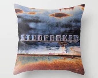 Studebaker Emblem Pillow Cover