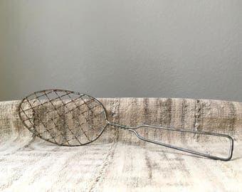 CLEARANCE Vintage Kitchen Strainer/Skimmer. Kitchen Tool