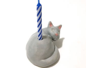 Special Order for Eleanor; Cat Cake Topper