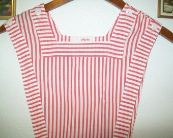 Vintage Candy Striper Jumper,1950s, 1960s, Angelica, dress, apron