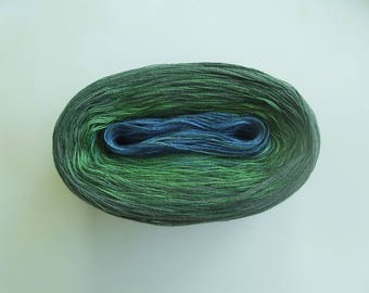 GAELIC MEDLEY II  Color Changing Cotton yarn  480 yards/100 gr  Fingering Weight