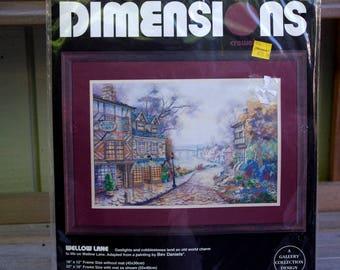 Wellow Lane Dimensions Crewel Kit