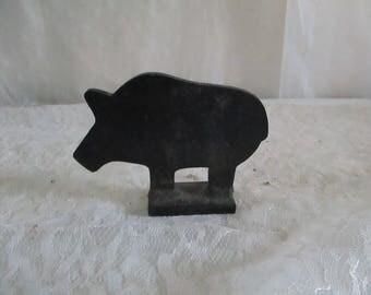 Target Metal Free Standing BB Gun Shooting Pig Wild Boar
