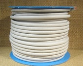 Summer Sale - 25% off 4.5mm Round European Leather - White - 4.5M-31 - Choose Your Length