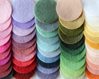 Felt Color Chart - Felt Swatches