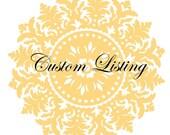 Custom Listing- Pink onesie