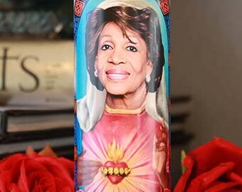 Saint Maxine Waters Prayer Candle / Auntie Maxine
