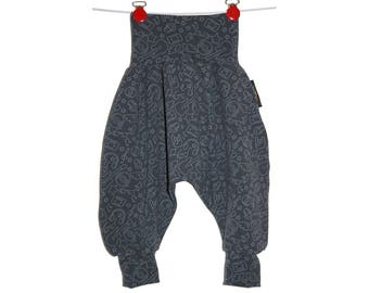 Harem pants size 3 to 24 months scalable music