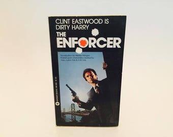 Vintage Pop Culture Book The Enforcer Film Novelization 1980s Paperback