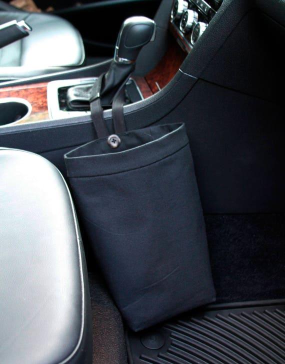 Car Litter Bag BLACK Men Car Trash Bag Auto Accessories