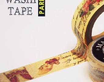 Antique masking tape - Maiden's collages  -  20mmW - Washi