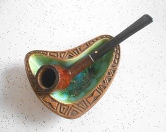 Vintage Dr Grabow Supreme Tobacco Pipe Wood Smoking Pipe 40's-50's Era