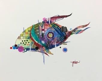 Evolved Submarine  Original Artwork