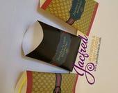 Designer custom chip bags
