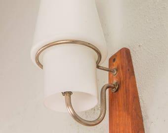 Danish Modern Wall-Mounted Vertical Sconce Light