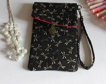 size custom phone case -  black beige - Tombo