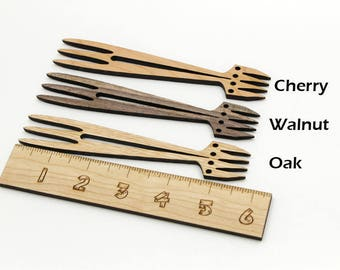 Miniature Zen Garden Rake - Karesansui Sand Rake - Oak, Cherry, or Walnut Wood. Timber Green Woods. Made in the USA!