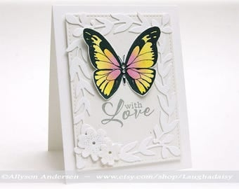 With Love Greeting Card - ENCG 002