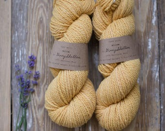 Allium Worsted Weight Wool Yarn