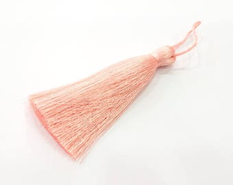 Baby Pink Tassel Large Thick 113 mm - 4.4 inches G8060