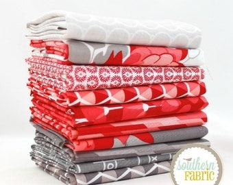 "Desert Bloom - Fat Quarter  Bundle - 10 - 18""x21"" Cuts - for Riley Blake Quilt Fabric"