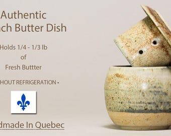 Butter Crock, French Butter Dish, Soft Butter Keeper, Cloche de Beurre, Handmade Butter Dish, Lidded Butter Dish, Pottery Butter Keeper