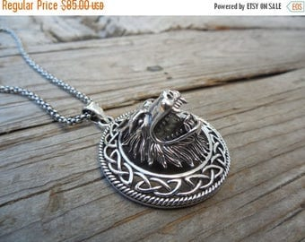 ON SALE Outrageous Werewolf necklace handmade in sterling silver
