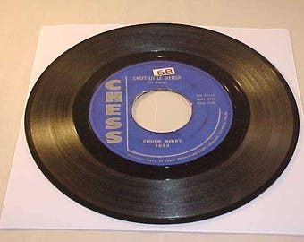 Chuck Berry  45 Vinyl Record - Sweet Little Sixteen
