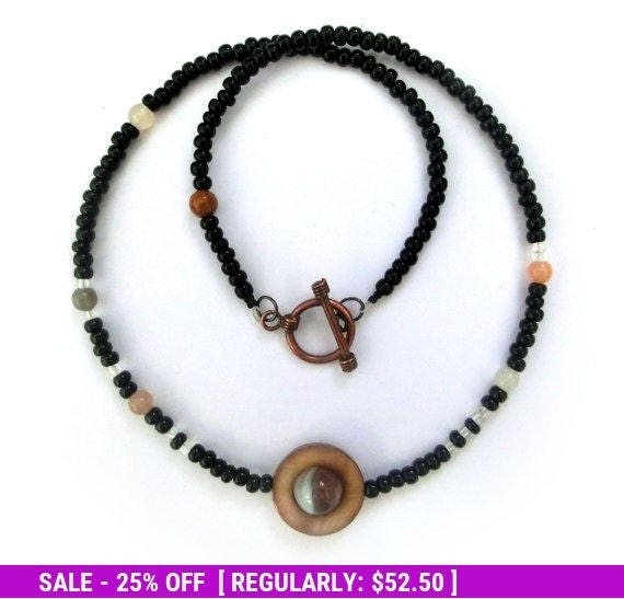 June SALE! Moons of Saturn Necklace - Proportional Distances - Mens Necklace - Solar System Necklace Series - Planet Saturn