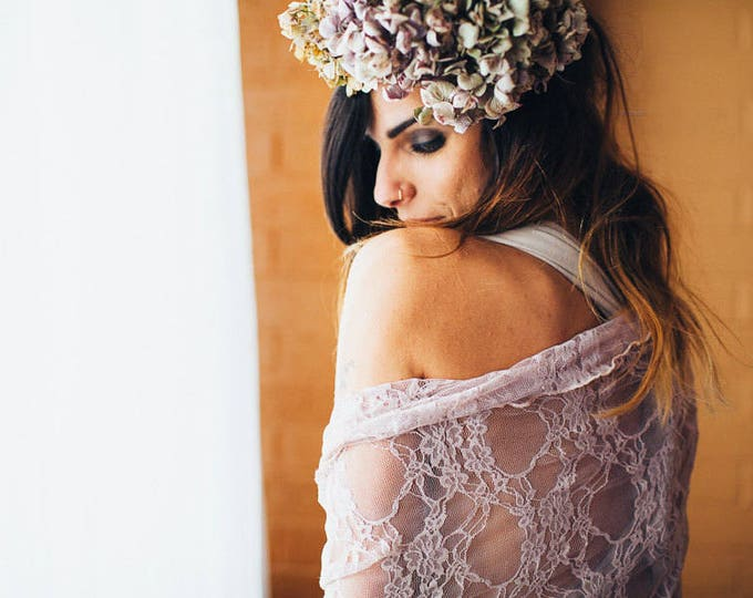 Ready Made- Infinity Wrap Shawl, Stole, Bolero, Shrug - Lace or Chiffon- Choose many colors. Bridesmaids, Wedding