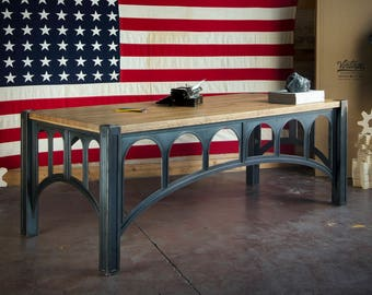 Industrial Executive Desk
