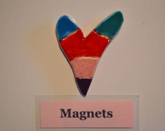 Tall Heart Magnet