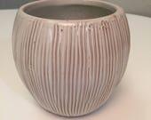 Vintage Mid Century Modern Famous Frankoma T7 Tiki Club Trade Winds Coconut Mug