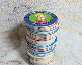 20% SALE Complete Set of 50 1994 Simpsons Pogs Game New Unused