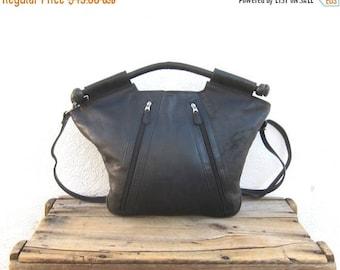 20% Off Sale Handbag Tote Shoulder Bag Black Leather Purse
